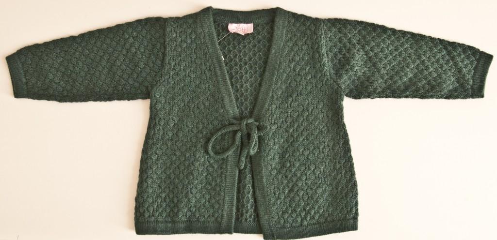 Chaqueta verde de Oh Soleil: T1-2-6-8-10-12 AÑOS