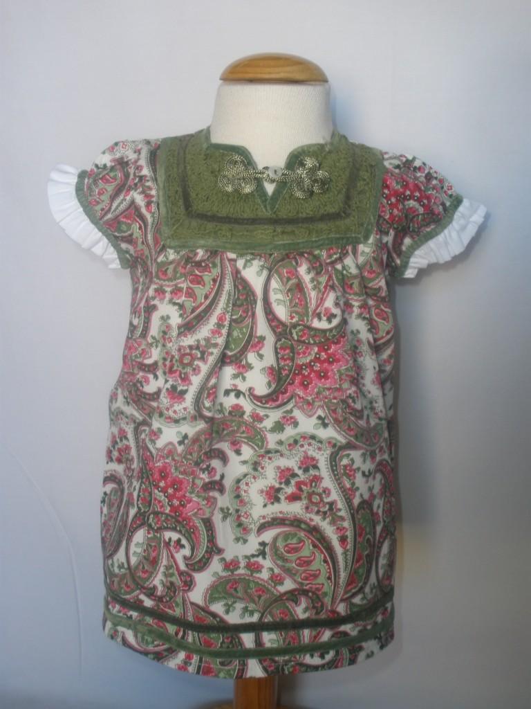 Vestido Cachemire de Oh Soleil: : T 3-6M T 6-9M T9-12M