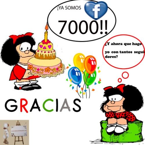 7000 GRACIAS