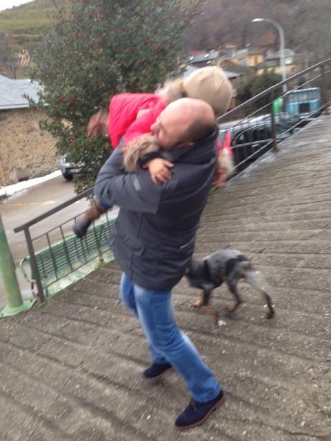Este perrin que la queria besar nos hizo pasar un rato estupendo..