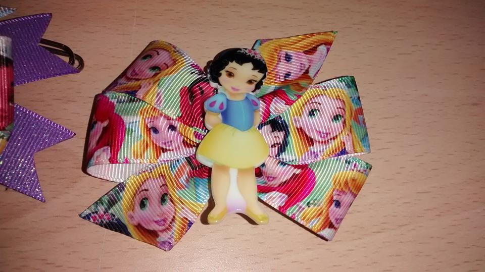 Lazos de princesas super cuquis...