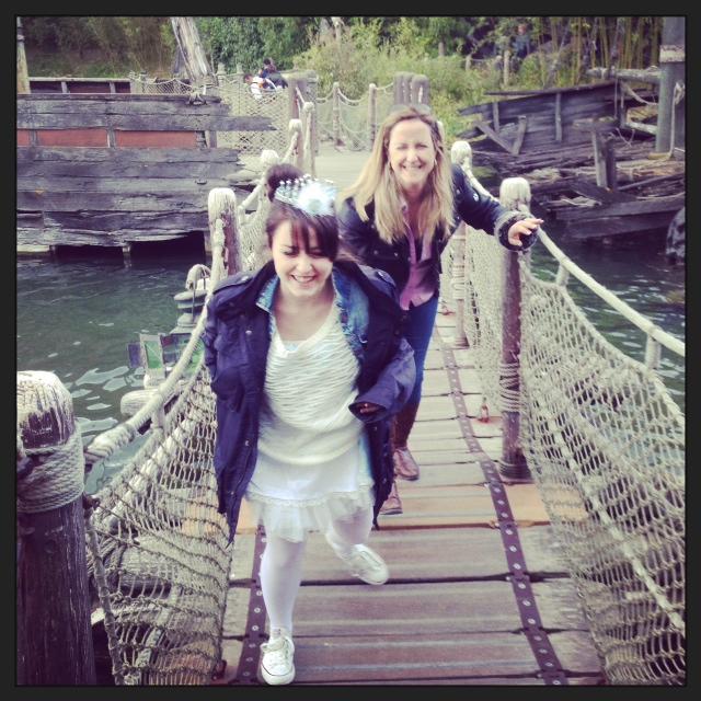 que risas pasamos en los puentes colgantes... paula y leti me lo hicieron pasar fatal..