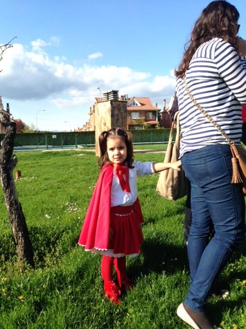 Mi princesa Marta... como la quiero madre.