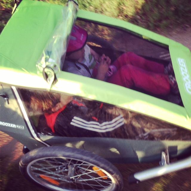 menudo invento el carrito... se cansan y se montan.... es lo mas