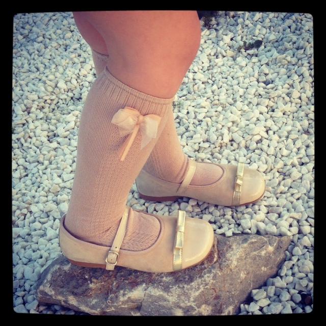 los zapatos son divinos...