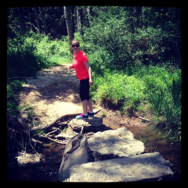 madre mia la de veces que casi me caigo en las piedras de cruzar el rio.. cero de equilibrio