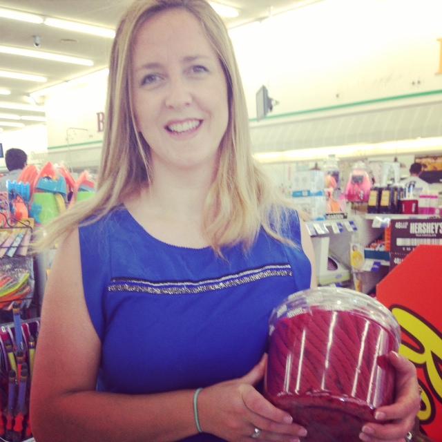 mirar como venden los regalices en EEUU jajaja menudo harton que te pegas...