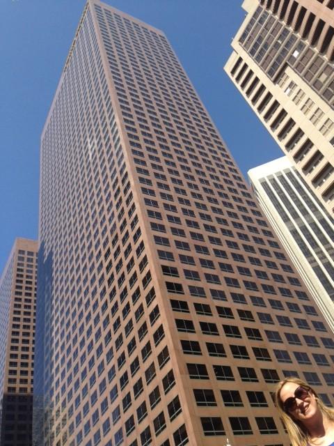 Los rascacielos son increibles...
