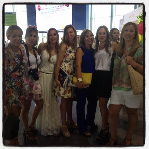 Las niñas de LA CASITA DE MIMI con Mis queridas CHUCHU CHIC Mar de TRAE TELA Y Raquel de el blog VALERIA Y SU MAMA