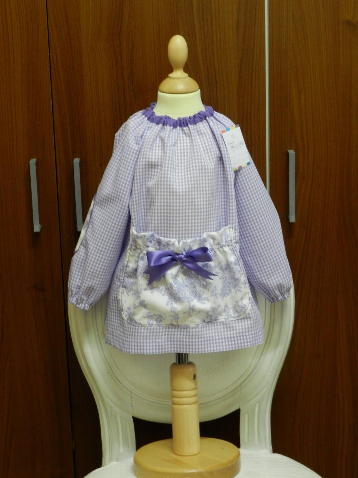 baby violeta toile cuadritos