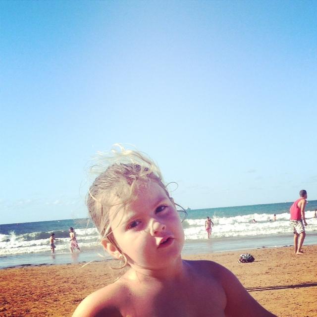Como disfruta de la playa...