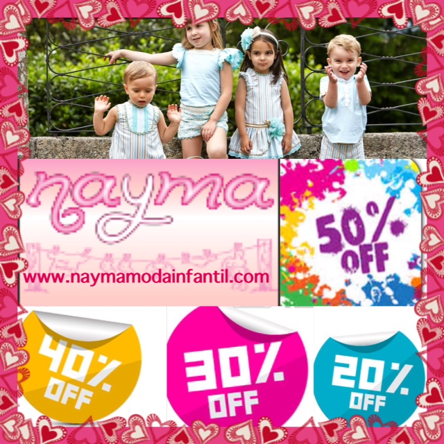 SORTEO DE NAYMA MODA INFANTIL