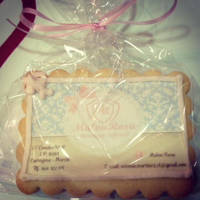 detalle de las galletas que Toñi nos dio ese dia...