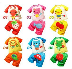 6_designs_Baby_suit_Infant_Toddlers_Clothing