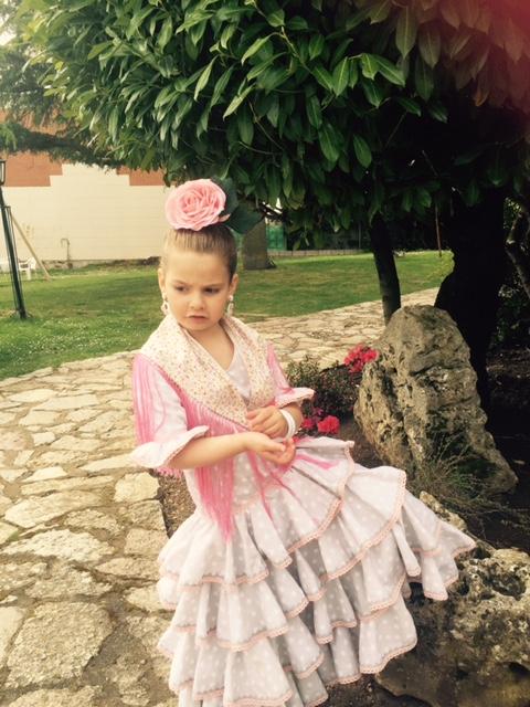 Mi flamenca guapa....