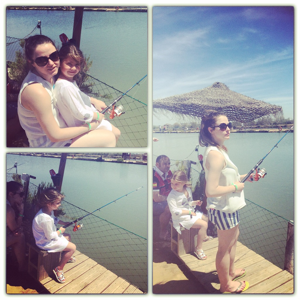 No os imaginais como lo pasaron en el dia de pesca...eso si... pescar no pescamos nada de nada....