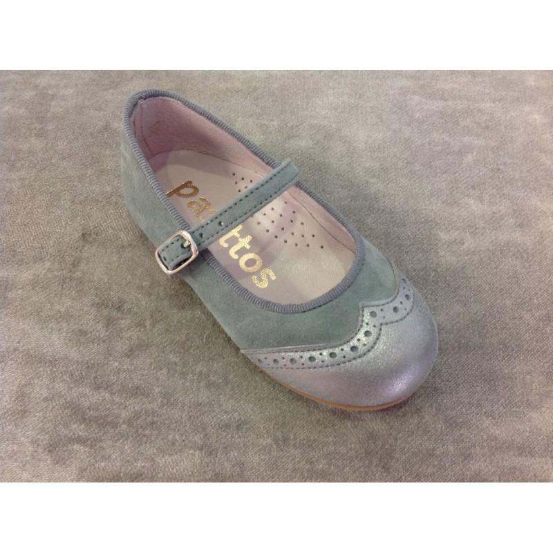 Me encantan estos zapatos grises... viene con metalizado y veremos que resultado dan...cuestan 40€