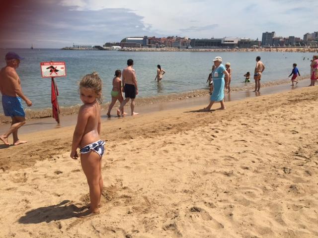 En Julio tuvimos nuestros dias de playa....