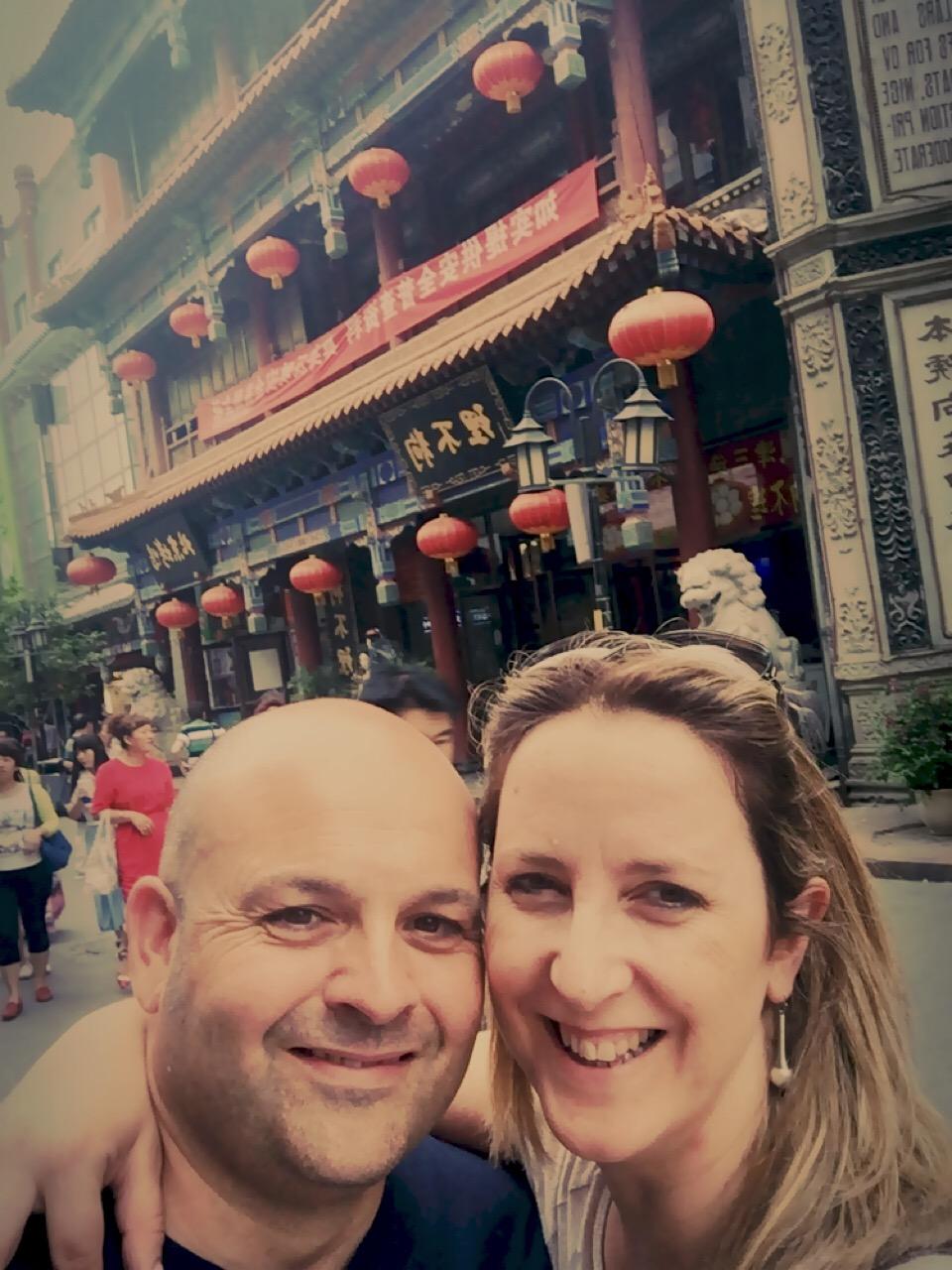 Y nos fuimos a China... risas a miles... pero con pocas ganas de volver...