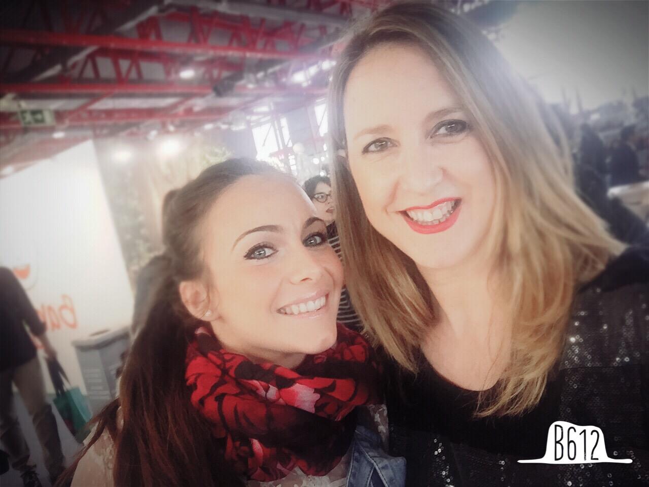 Con Laura de Candela Gil