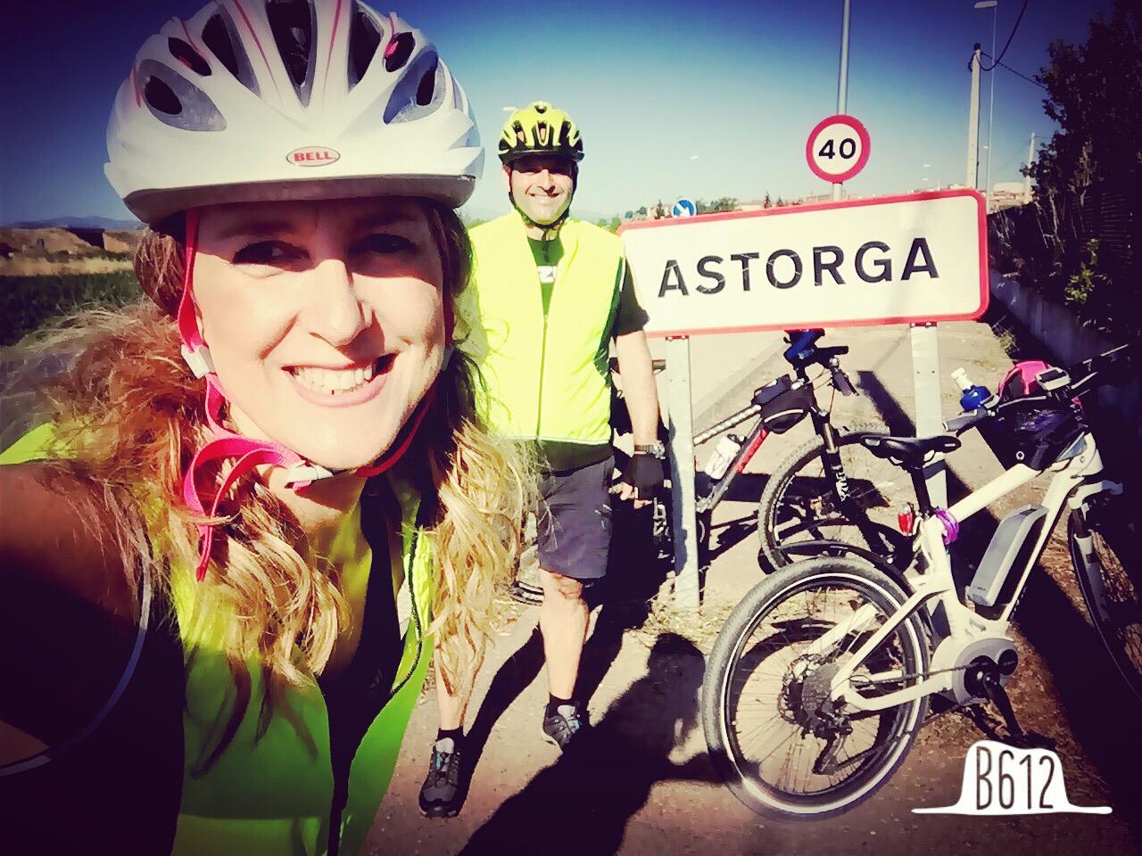 Que satisfacción tuve al llegar a Astorga... y como me gusta este pueblo a mi desde que mi hermana vivió allí tantos años...