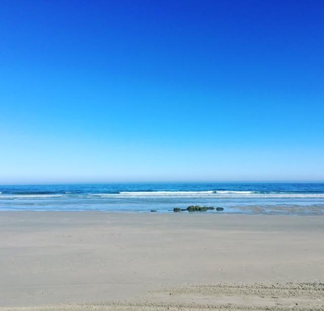 10:30 de la mañana y solo yo en la playa...
