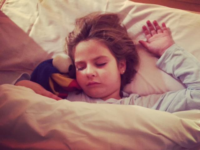 dormida parece buena...