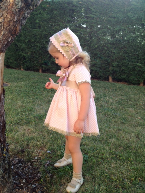 Sus dos añitos los cumplio con el vestido de Marta